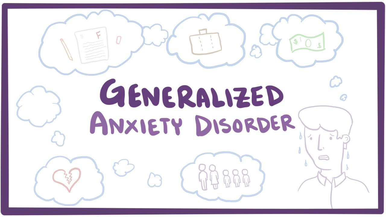 Image result for Generalized Anxiety Disorder Anxiety