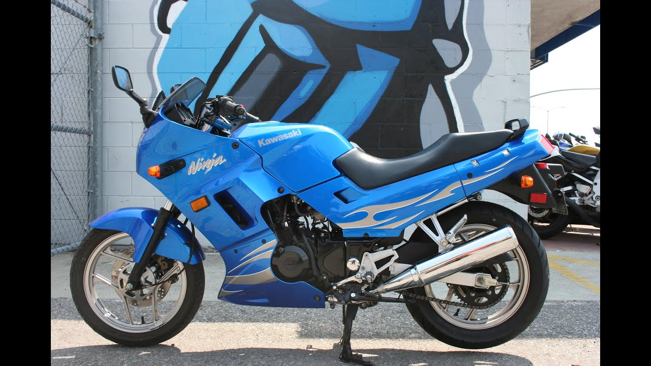 2007 Kawasaki Ninja 250 Motorcycle For Sale... Only 6711 miles ...