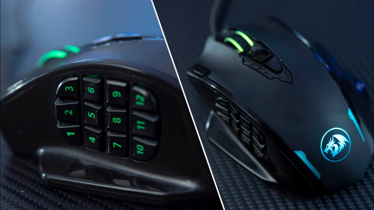 Redragon M908 Impact - Large Multi-Button Gaming Mouse