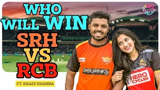 RCB GIRLFRIEND VS SRH BOYFRIEND || Ft. Krazy Khanna || HEY PILLA | CAPDT