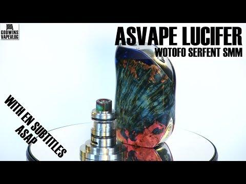 Electronic cigarete / Setup - Asvape Lucifer & Wotofo Serpent SMM - Review (EN subs)