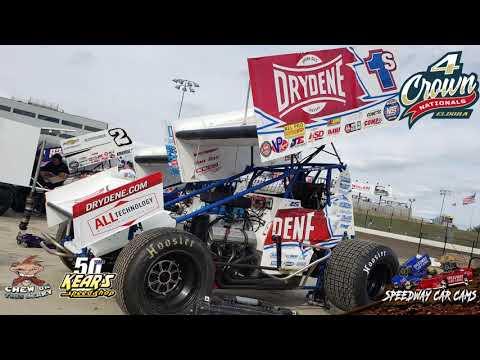 #1S Logan Schuchart - In-Car Trailer for Eldora Speedway 9-17-19