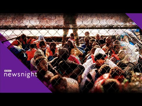 Hardline Italy and anti-migrant rhetoric - BBC Newsnight