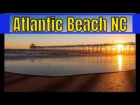 Atlantic Beach & Bridge Aerial & Historical Videos North Carolina