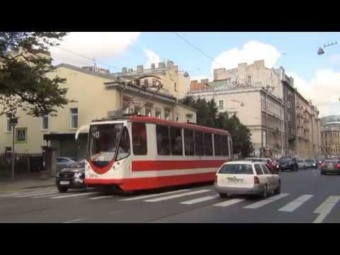 St. Petersburg Tram, Part 3. Petrogradskaya Side. Трамвай Петербурга, ч. 3. Петроградская сторона