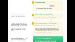Selling Downloads Using PayLoadz Express
