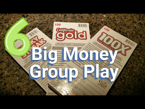 Day 6 - Big Money Group Play - $2,100 in Scratchers - The Finale!