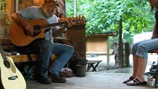 Guadalupe Ghost Original Music by Ted Frumkin Live at Luckenbach Penna Front Porch with Jen Frumkin