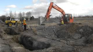 Dietrich Idaho Water Project 12-03-2013 Excavate, Lay Pipe, Backfill, Install Meter Vaults