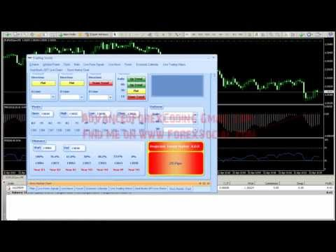 Forex Alert System Instruction Live Demonstration How to Generate Your Own Forex Signals