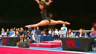 Ozzy Man Reviews Best Gymnastics Routine