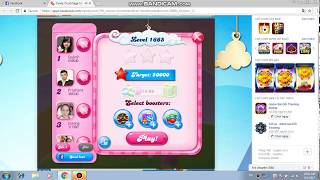 Candy Crush Saga level 1665! NO BOOSTERS