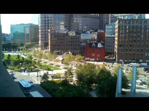 Rose Kennedy Greenway Boston MA 9-30-11
