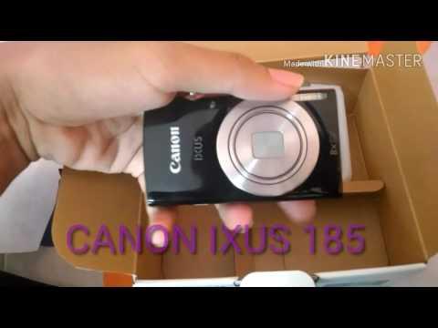 Unboxing Kamera Canon Ixus 185 8x Optical Zoom