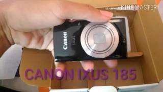 Unboxing kamera canon ixus 185 8x optical zoom