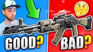GOOD or BAD...? - DLC *NEW* GUN GAMEPLAY!