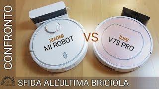 ILife V7s Pro vs Xiaomi Mi Robot - Sfida all'ultima briciola! COUPON SCONTO in descrizione!