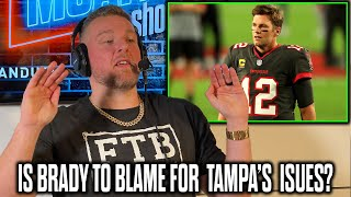 Pat McAfee Reacts To Report Tom Brady Is Running The Buccaneers Offense