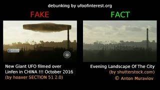 """[Fakes vs Facts] Some sources used by """"SECTION 51 2.0"""" to make fake UFO sightings"""