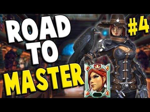 Paladins: Ranked Cassie - Road To Master #4 W/ Jlowther2012