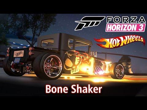 O MÍTICO Bone Shaker! 💀 - Expansão Hot Wheels | Forza Horizon 3