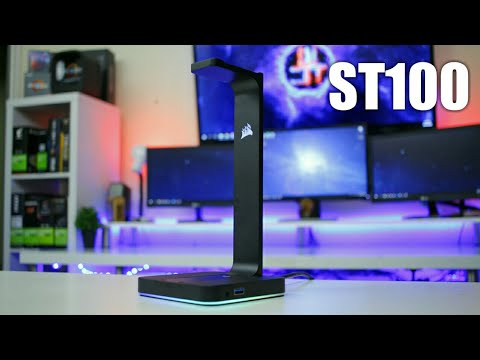 More Than Just A Headphone Stand - Corsair ST100 RGB Review [4K 60FPS]