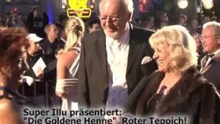 "Super Illu präsentiert ""Goldene Henne"" Roter Teppich"