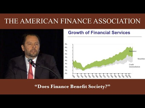 Does Finance Benefit Society?
