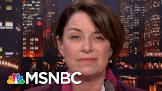 Senator Amy Klobuchar Wants To Hear From Mueller Directly | All In | MSNBC