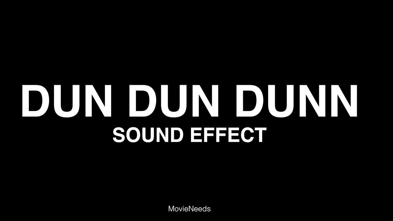 """Freesound """"dun dun dun. Wav"""" by simon_lacelle."""