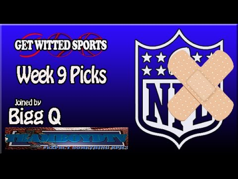 GWS' 2015 NFL Week 9 Picks