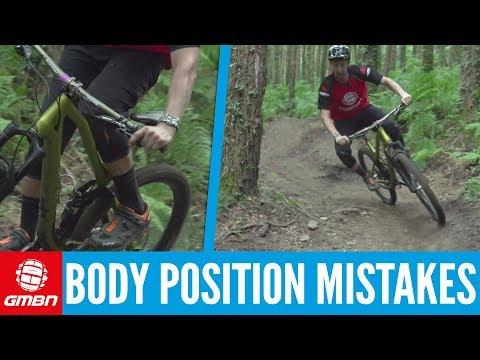 Top 5 Beginner Body Position Mistakes | Mountain Biking 101