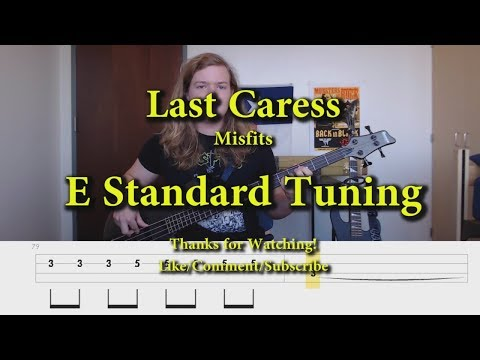 Last Caress - Misfits (Bass Cover with Tabs) mp3