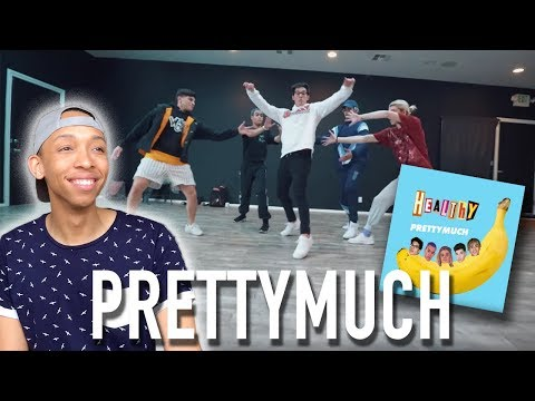 PRETTYMUCH - Healthy + God's Plan (Drake Dance Video) | (REACTION)