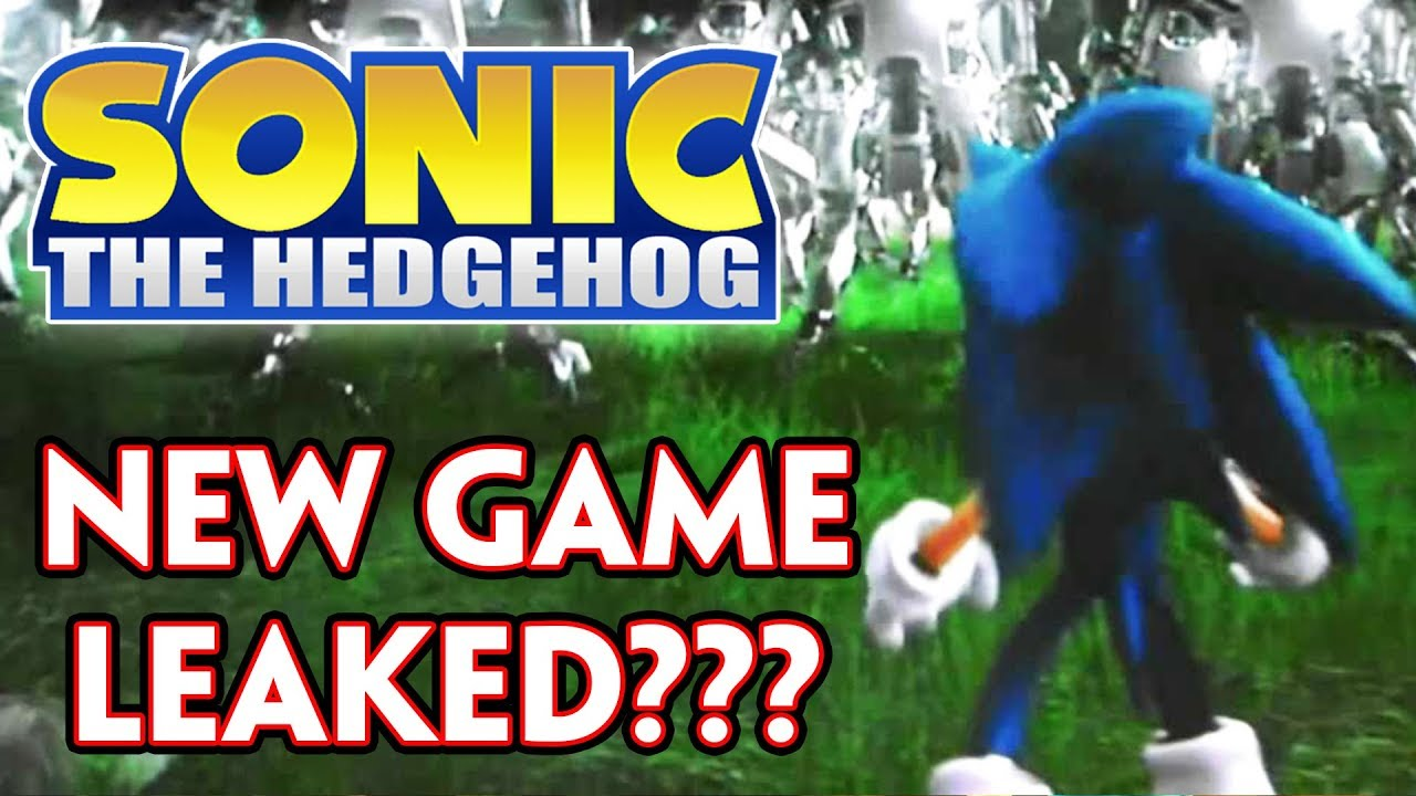 Was A New Sonic Game Accidentally Leaked New Game Reveal Incoming Youtube
