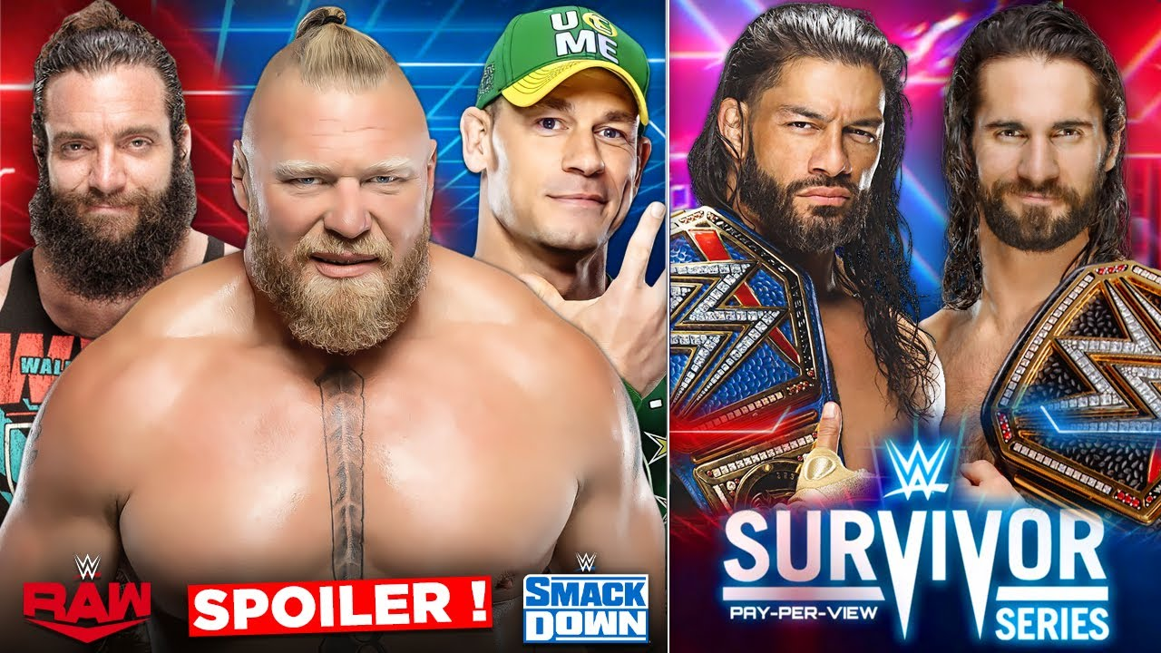 ROMAN Reigns VS SETH Rollins AT SURVIVOR SERIES 2021, BIG Changes to RAW & Smackdown 2021