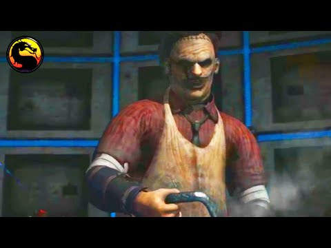 Mortal Kombat X: NEW Leatherface Gameplay Butcher Variation - Kombat Pack #2 Leatherface Gameplay
