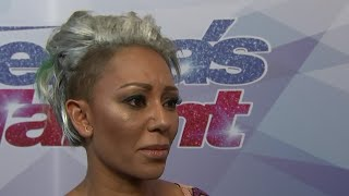 Mel B storms off 'America's Got Talent' set