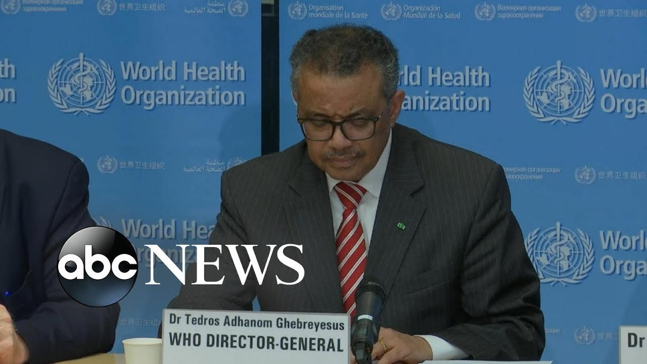 World Health Organization declares coronavirus a pandemic | ABC News
