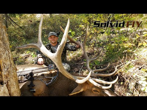 Last Day Bull! - Archery Elk Hunting POV Solvid - Film It Yourself
