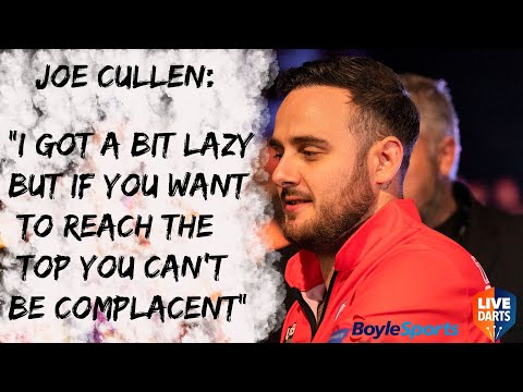 """Joe Cullen: """"I got a bit lazy but if you want to reach the top you can't be complacent"""""""