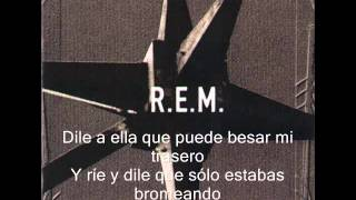 The Sidewinder Sleeps Tonite R.E.M. español