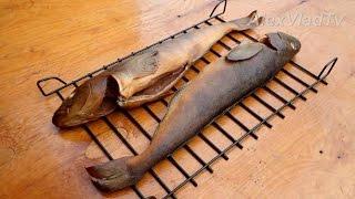 Копчение рыбы горячим способом.