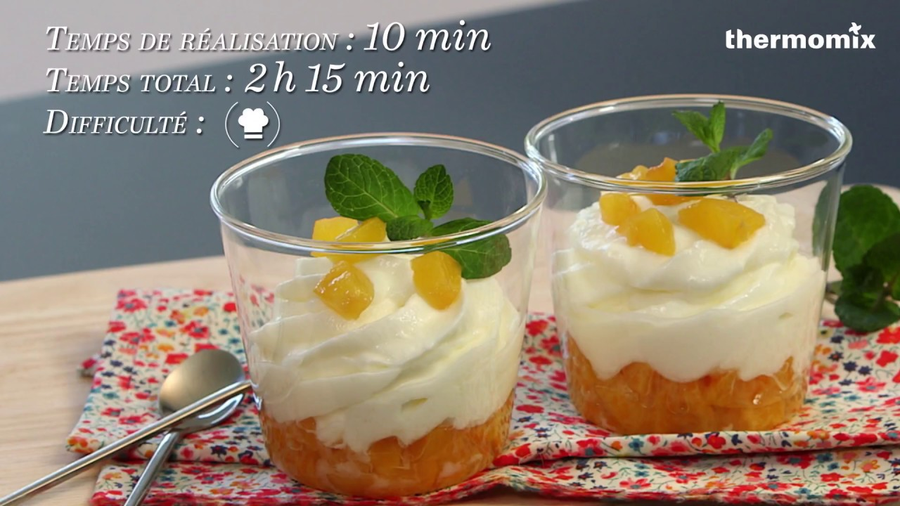 tartare d 39 abricots mousse de mascarpone au thermomix recette issue des cours de cuisine youtube. Black Bedroom Furniture Sets. Home Design Ideas