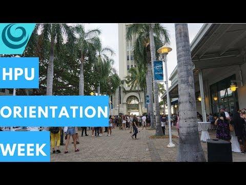ORIENTATION WEEK~ Hawaii Pacific University