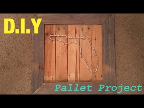 D.I.Y Pallet Project/ Thread Art