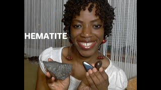 Hematite Crystal: Root Chakra, Grounding, Life Mirror, Mental Focus,  Will Power, Inner Strength