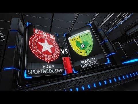 Foot - CL 2018 - ESS/Plateau United (NGA) - (4-2) - Reportage ESS Tv