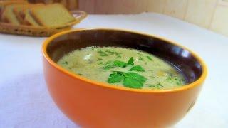 Крем суп из шампиньонов в мультиварке