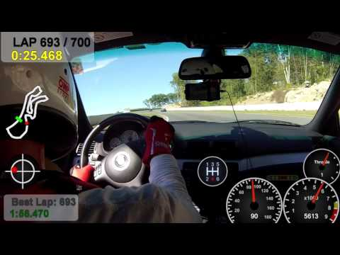 BMWCCA HPDE Palmer Motorsports Park 9/20/2015 - E46 M3 - Run Group 2 - Session 3 -
